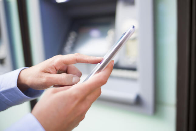 why financial services use mobile sms