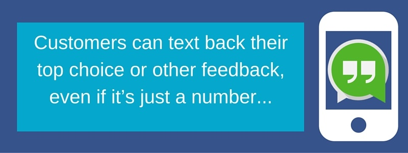 Customer Text In
