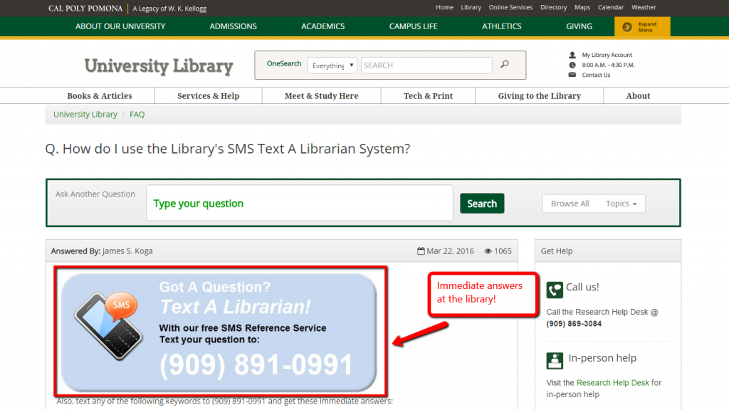 Text Messaging Idea #10 - Libraries Can Send Due Date Reminders