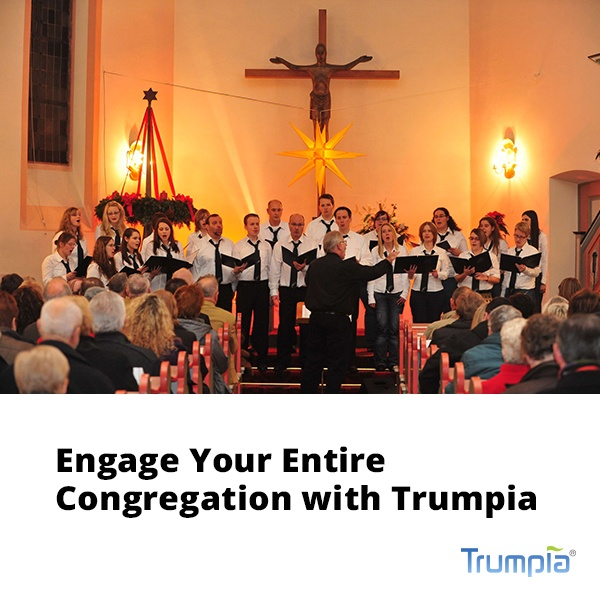 Engage Your Congregation with Trumpia