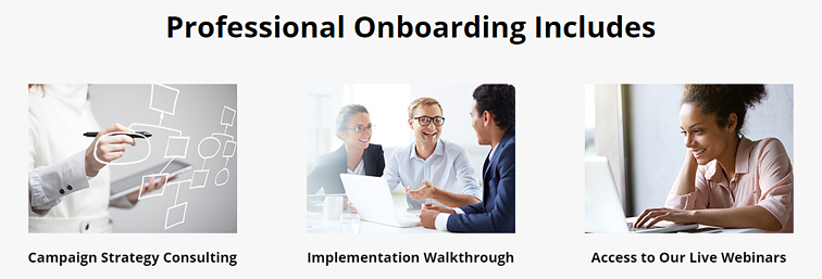 Trumpia Professional Onboarding Includes