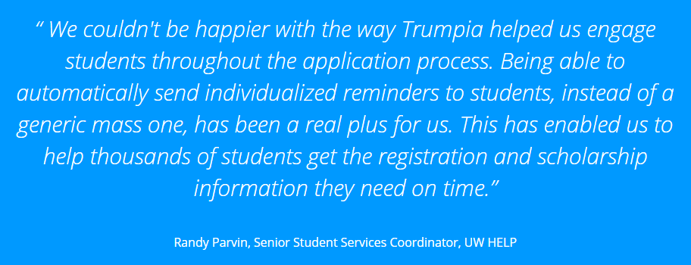 University of Wisconsin uses Trumpia